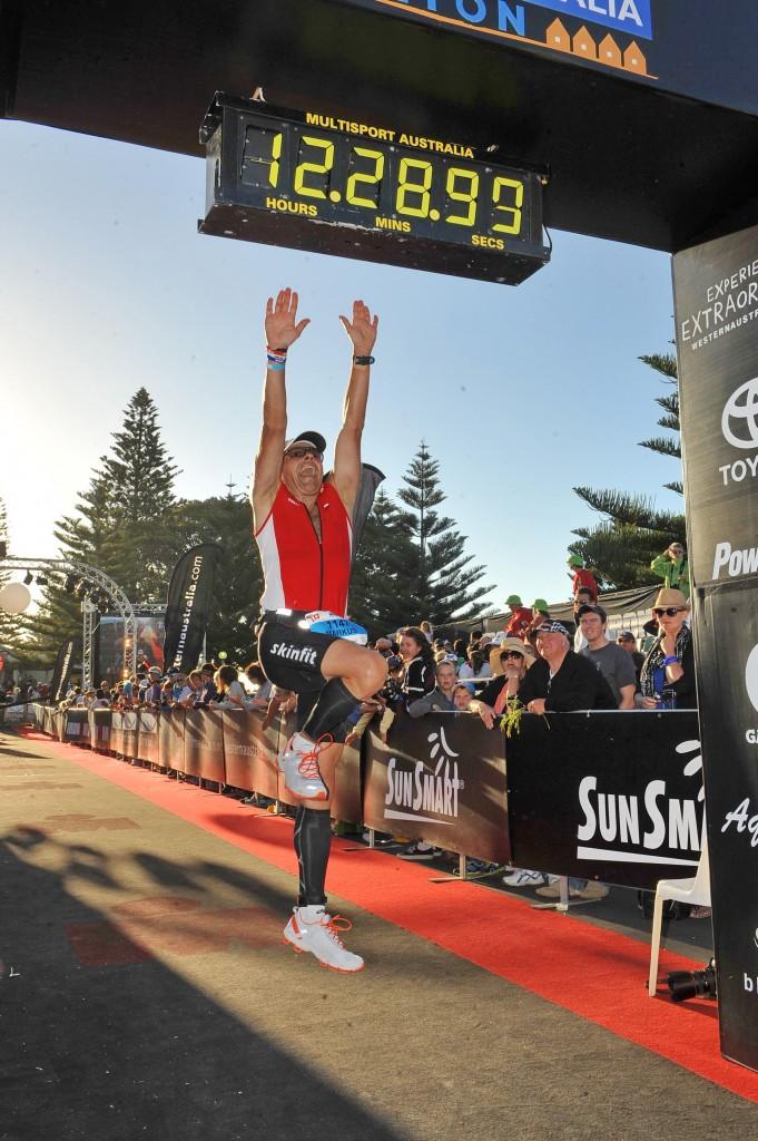 Ironman Western Australia Ziel erreicht