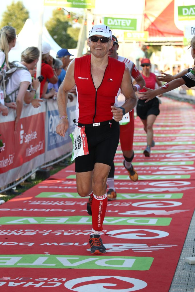 Challenge Roth - Run finishing line