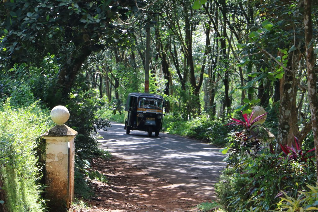 India traffic - Tuk tuk